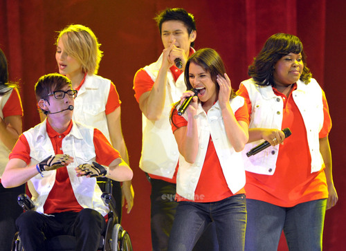 Glee! Live In Concert in Anaheim