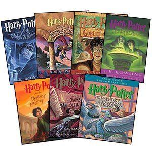 Harry Potter Books!!!!!!