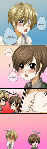 Haruhi, may I Kiss you?