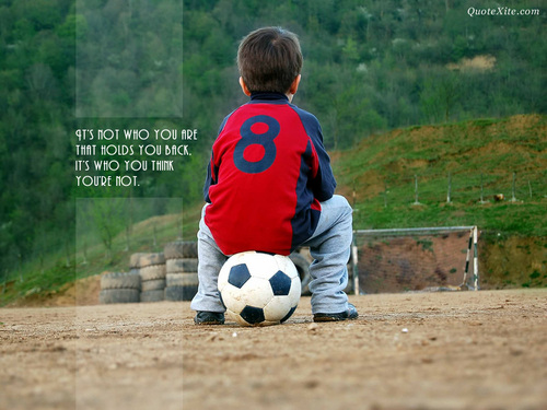 The Secret wallpaper containing a soccer ball titled Inspirational Wallpapers