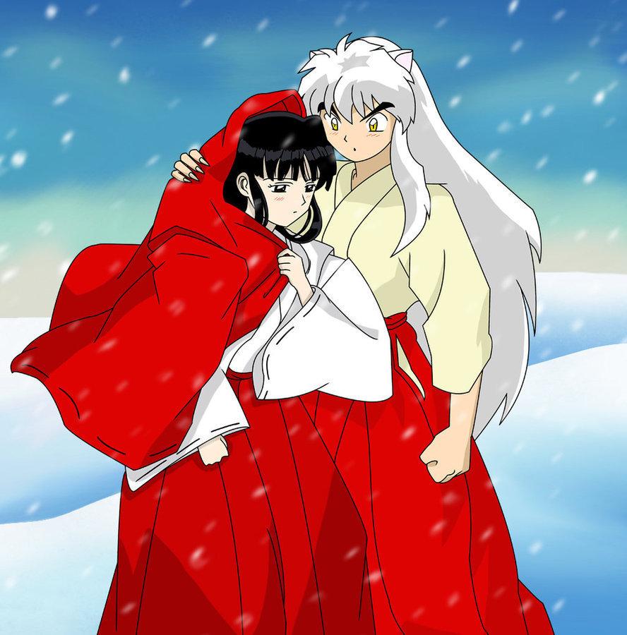 Inuyasha Kikyo Inuyasha and Kikyo