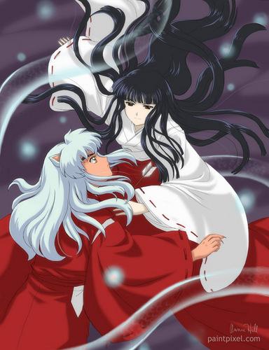 इनुयाशा and Kikyo