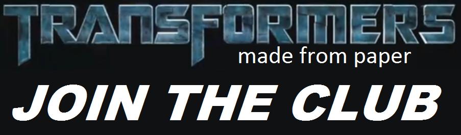 unisciti MY PAPER Transformers CLUB