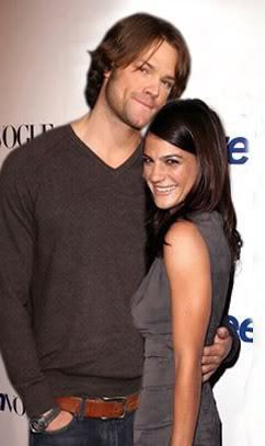 Jared Padalecki & Genevieve Cortese wallpaper containing a portrait called Jared & Gen