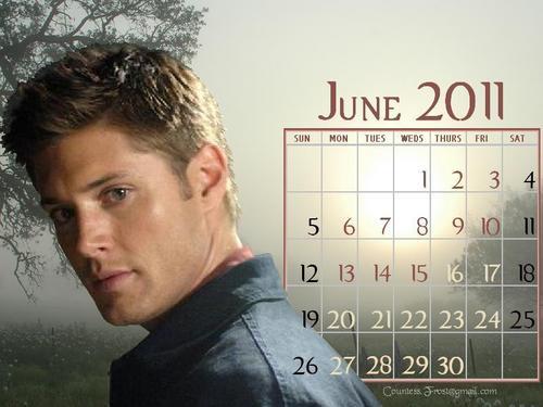 June 2011 - Dean (calendar)