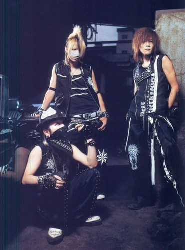 Kai, Reita and Ruki