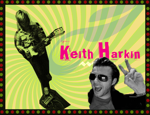 Keith Harkin being awesome