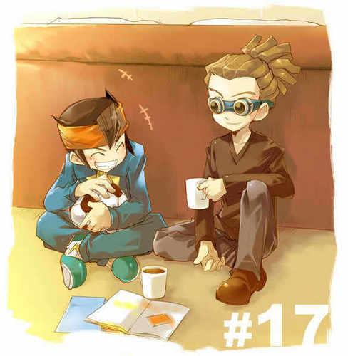 Kidou and Endou