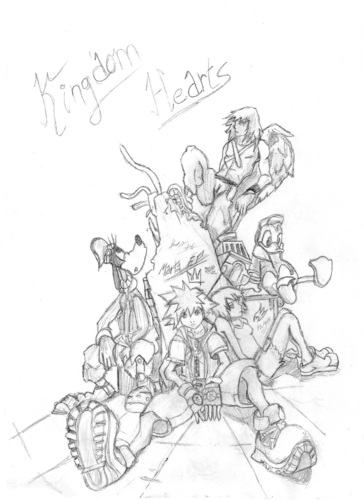 Kingdom hearts by me