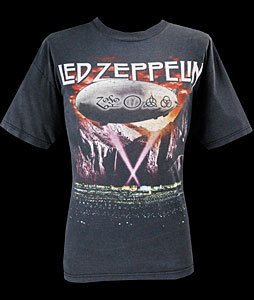 Led Zeppelin vintage tees
