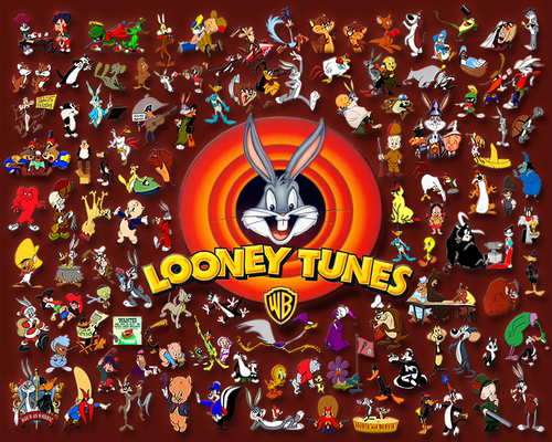 Looney Tunes achtergrond probably containing a roulette wheel entitled Looney Tunes