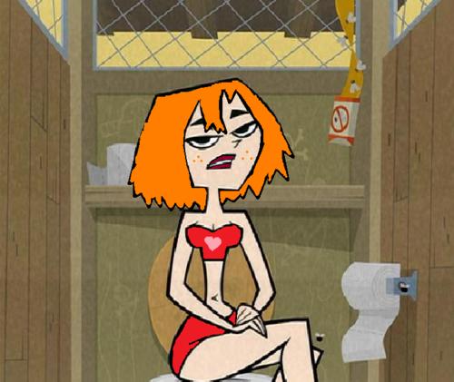 Maggie in swim suit