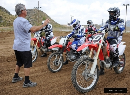 Matt, Michael and Zach - Oakley's Learn To Ride Motocross Event