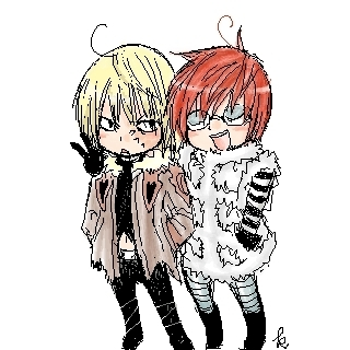 Matt and Mello