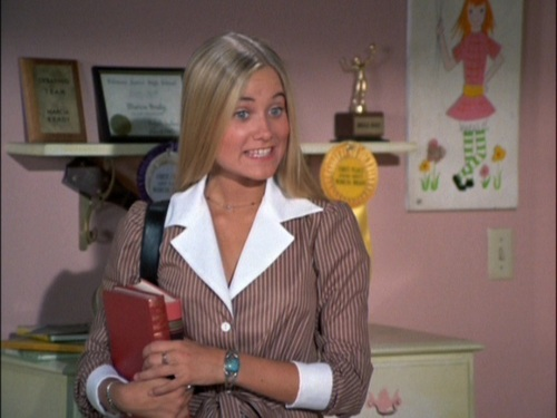Maureen Mccormick As Marsha The Brady Bunch Screencap