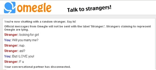 Me trolling on Omegle