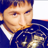 Lionel Andres Messi photo with a soccer ball entitled Messi@