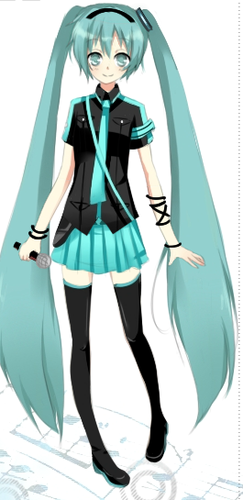 hatsune miku wallpaper titled Miku Dress up