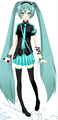 Miku Dress up - hatsune-miku fan art