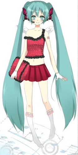hatsune miku wallpaper entitled Miku Dress up