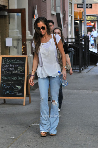 Minka Kelly spotted out in SoHo, New York, May 27