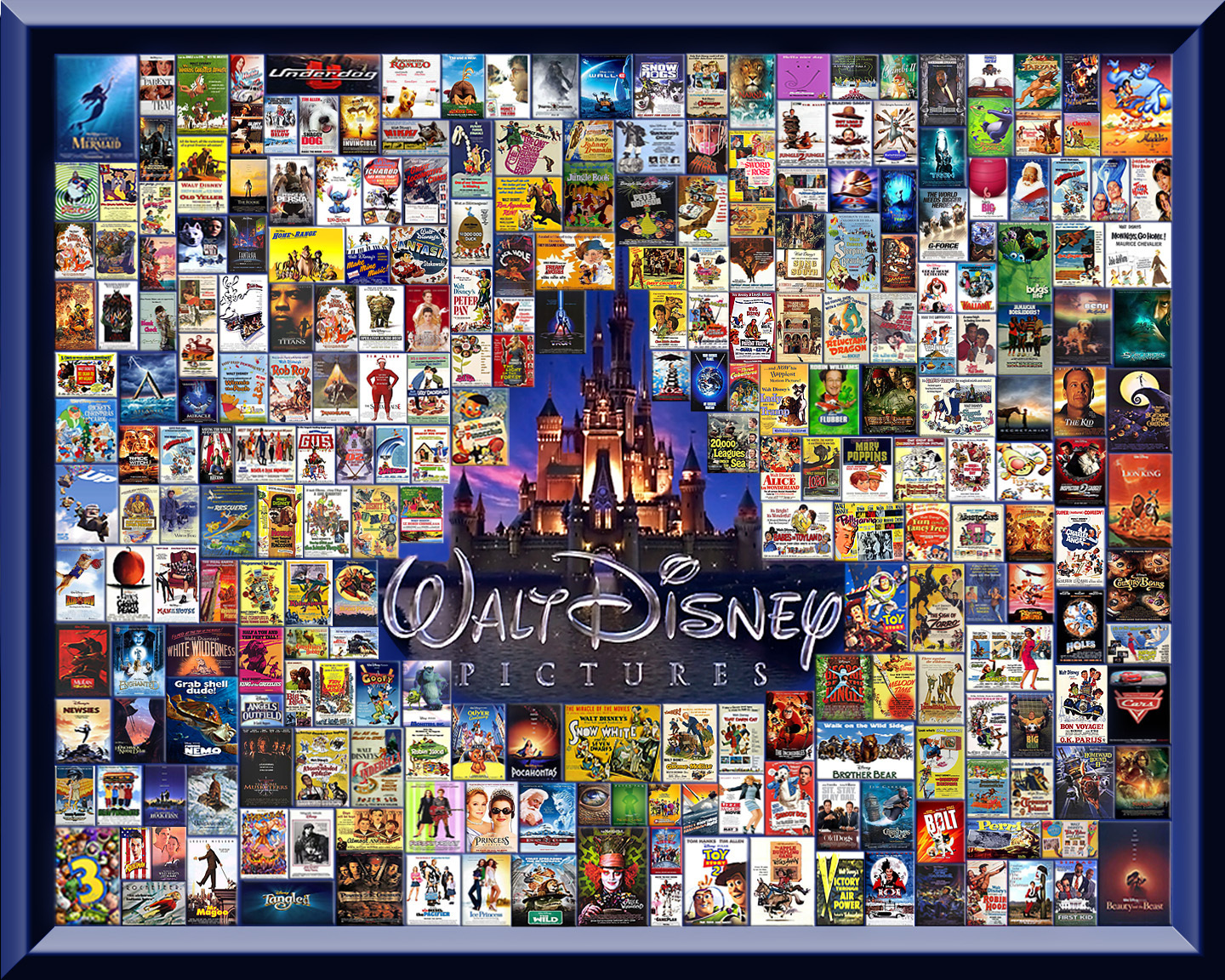 My Disney/Pixar collages