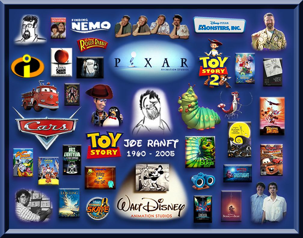 My Disney/Pixar collages