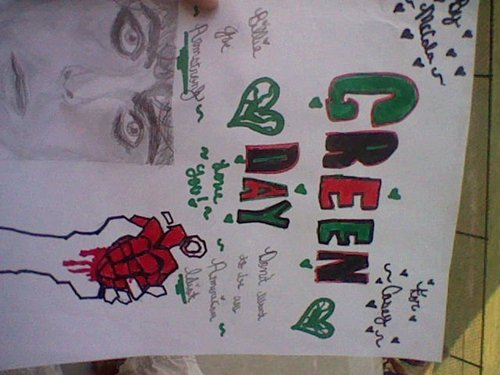 My Green Tag Drawing For My Bestie. <3