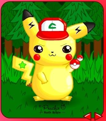 My Pikachu workshop creation