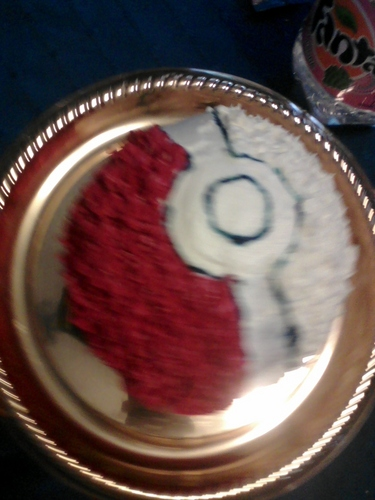 My Pokeball Birthday Cake