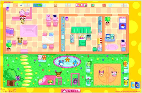 My own Pokemon Center