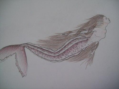 My painting-Mermaid