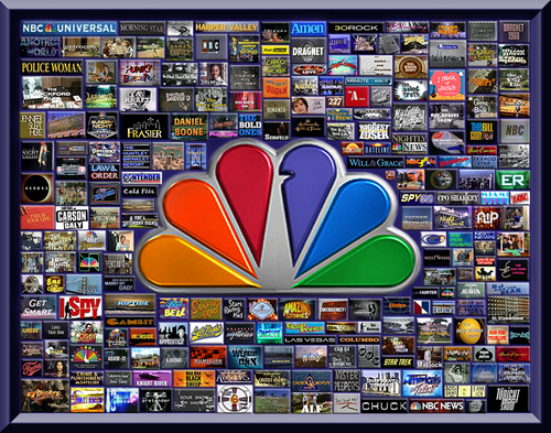 Television wallpaper entitled NBC Television Over the Years