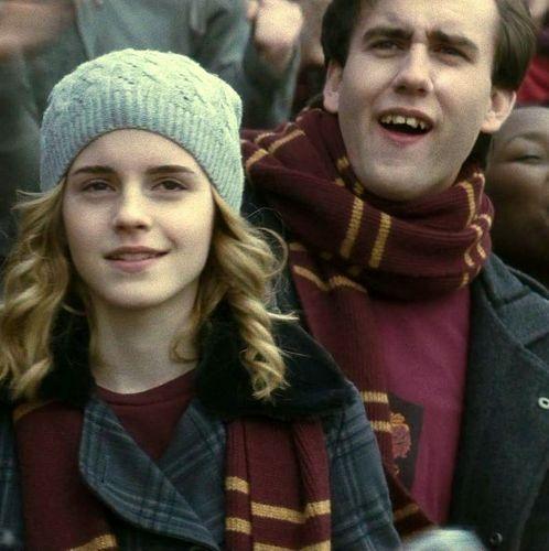 Neville Longbottom and Hermione Granger