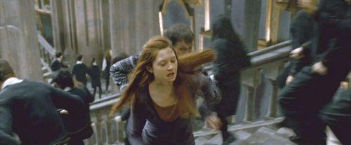 Neville Longottom and Ginny Weasley