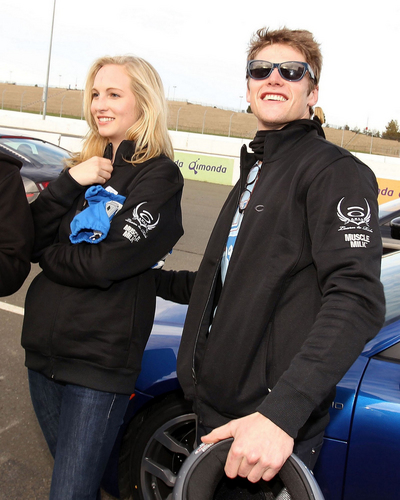 "New/Old चित्रो of Candice and Zach [Oakley Presents ""Learn to Ride"" at Infineon Raceway]"