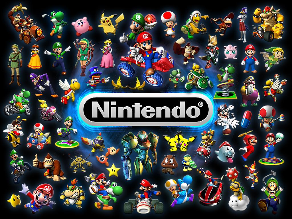 Nintendo nintendo characters