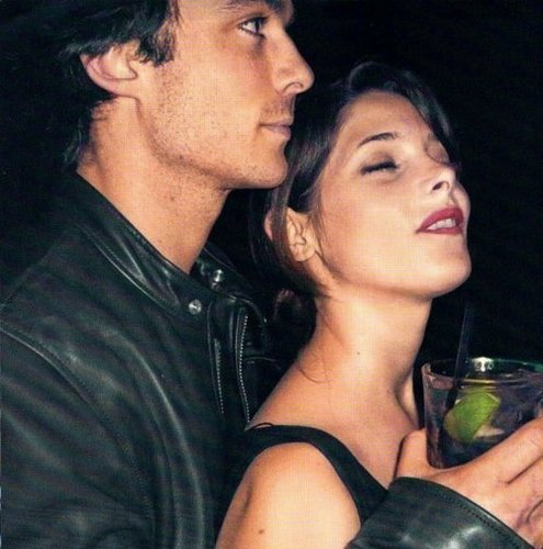 Ian Somerhalder Hintergrund possibly with a portrait called Old Picture - Ian and Ashley Greene