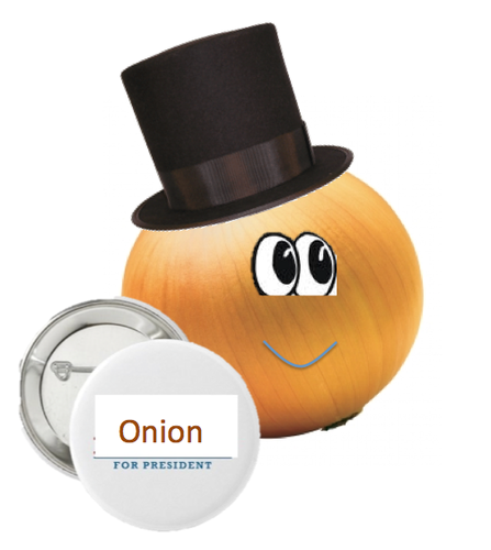 Respect the Onions. achtergrond called ui for Prez.