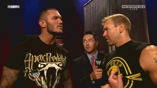 Orton and Christian Over the  interview