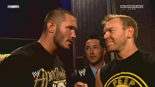 Orton and Christian Over the Limit interview