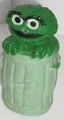Oscar the Grouch squeak toy
