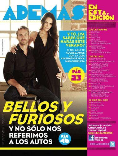 Paul Walker and Jordana Brewster - Magazine Scans
