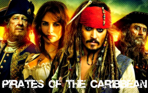 Pirates of the Caribbean wallpaper with a portrait entitled Pirates of the Caribbean