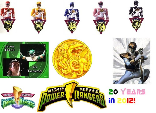 Power Rangers: 20 years in 2012! - mighty-morphin-power-rangers Fan Art