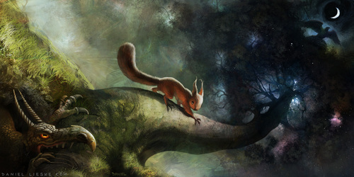 Norse Mythology Wallpaper Titled Ratatoesk