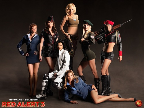 Red alert 3 Girls