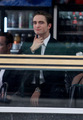 Robert Pattinson on the set of Cosmopolis in Toronto! - twilight-series photo