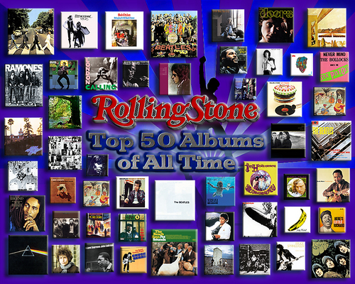 Rolling Stone's 最佳, 返回页首 50 Albums of All Time.