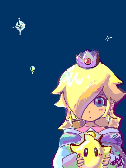 Topic des fanarts Nintendo  - Page 36 Rosalina-nintendo-22404193-480-640